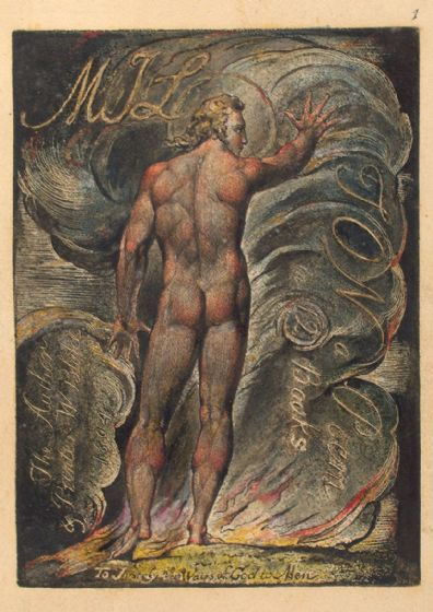 Blake, William: Milton, a Poem, To Justify the Ways of God to Men. Fine Art Print/Poster (4951)